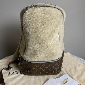 Louis Vuitton Marc Newson Sherling Fleece Backpac